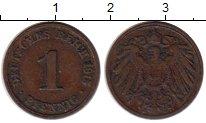 Изображение Монеты Германия 1 пфенниг 1915 Бронза VF