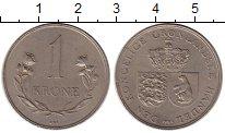 Изображение Монеты Гренландия 1 крона 1964 Медно-никель XF-
