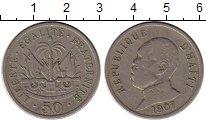 Изображение Монеты Северная Америка Гаити 50 центов 1907 Медно-никель VF