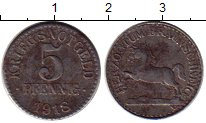 Изображение Монеты Германия : Нотгельды 5 пфеннигов 1918 Железо VF