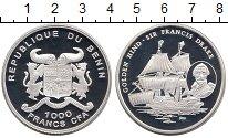 Изображение Монеты Африка Бенин 1000 франков 2005 Серебро Proof