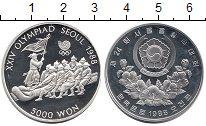 Изображение Монеты Азия Южная Корея 5000 вон 1986 Серебро Proof-