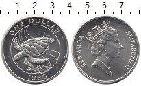 Изображение Монеты Великобритания Бермудские острова 1 доллар 1986 Серебро UNC-