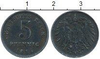 Изображение Монеты Европа Германия 5 пфеннигов 1915 Железо VF