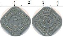 Изображение Монеты Нидерланды 5 центов 1914 Медно-никель VF