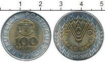 Изображение Монеты Европа Португалия 100 эскудо 1995 Биметалл UNC