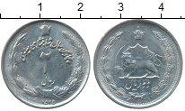 Изображение Монеты Иран 2 риала 1976 Медно-никель XF