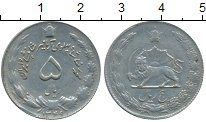 Изображение Монеты Иран 5 риалов 1970 Медно-никель XF