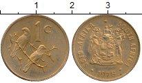Изображение Монеты Африка ЮАР 1 цент 1978 Бронза XF