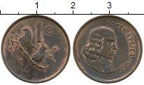 Изображение Монеты ЮАР 1 цент 1966 Бронза XF Йохан ван Рибек