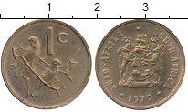 Изображение Монеты Африка ЮАР 1 цент 1977 Бронза XF