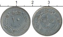Изображение Монеты Азия Турция 10 пар 1916 Медно-никель VF