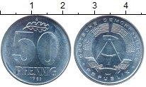 Изображение Монеты ГДР 50 пфеннигов 1982 Алюминий UNC- А