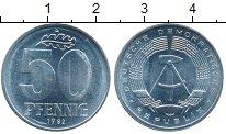 Изображение Монеты Германия ГДР 50 пфеннигов 1982 Алюминий UNC-