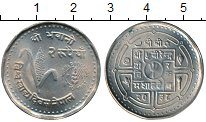 Изображение Мелочь Непал 2 рупии 1981 Медно-никель UNC-