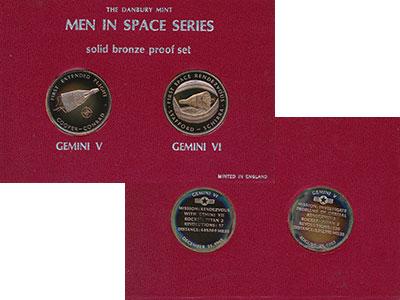 Изображение Подарочные монеты Великобритания Набор жетонов 0 Бронза Proof