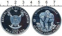 Изображение Монеты Африка Камерун 1000 франков 2012 Серебро Proof-