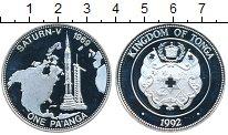 Изображение Монеты Австралия и Океания Тонга 1 паанга 1992 Серебро Proof