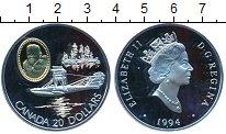 Изображение Монеты Северная Америка Канада 20 долларов 1994 Серебро Proof