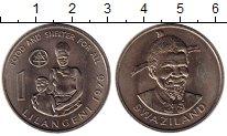Изображение Монеты Свазиленд 1 лилангени 1976 Медно-никель XF