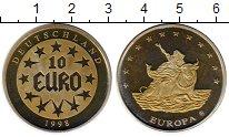 Изображение Монеты Европа Германия 10 евро 1998 Латунь Proof-