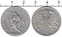 Изображение Монеты Австрия 1 шиллинг 1952 Алюминий XF