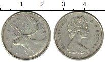 Изображение Монеты Северная Америка Канада 25 центов 1968 Серебро VF