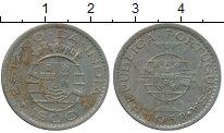 Изображение Монеты Португальская Индия 1 эскудо 1958 Медно-никель XF-