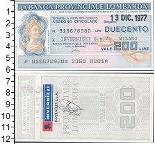 Изображение Банкноты Европа Италия 200 лир 1977  UNC