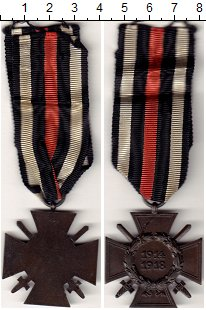 Изображение Значки, ордена, медали Европа Германия Медаль 1918 Медь XF+
