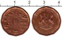 Изображение Монеты Уганда 1 шиллинг 1987 Бронза XF