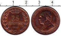 Изображение Монеты Андорра 25 сентим 1986 Бронза XF