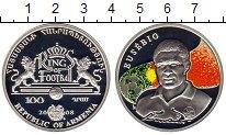 Изображение Монеты СНГ Армения 100 драм 2008 Серебро Proof-