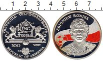 Изображение Монеты СНГ Армения 100 драм 2009 Серебро Proof-