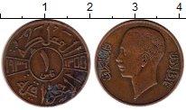 Изображение Монеты Ирак 1 филс 1936 Бронза VF