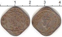 Изображение Монеты Индия 1/2 анны 1946 Медно-никель VF