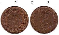 Изображение Монеты Азия Индия 1/12 анны 1925 Бронза XF