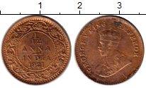 Изображение Монеты Азия Индия 1/12 анны 1921 Бронза VF
