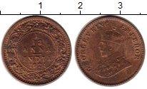 Изображение Монеты Индия 1/12 анны 1924 Латунь VF