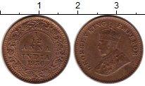 Изображение Монеты Индия 1/12 анны 1936 Бронза XF Георг V