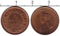 Изображение Монеты Индия 1/12 анны 1925 Латунь VF Георг V