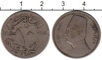 Изображение Монеты Египет 10 миллим 1935 Медно-никель XF- Фуад I