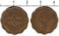 Изображение Монеты Индия 1 анна 1945 Латунь VF