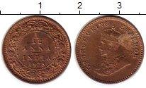 Изображение Монеты Индия 1/12 анны 1925 Бронза XF Георг V