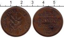 Изображение Монеты Палестина 2 милса 1941 Бронза VF