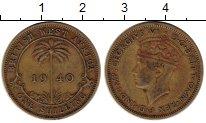 Изображение Монеты Западная Африка 1 шиллинг 1940 Латунь VF
