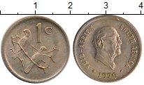 Изображение Монеты Африка ЮАР 1 цент 1976 Бронза XF