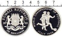 Изображение Монеты Африка Сомали 250 шиллингов 2003 Серебро Proof