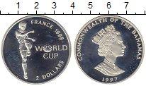 Изображение Монеты Северная Америка Багамские острова 2 доллара 1997 Серебро Proof-