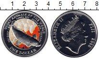 Изображение Монеты Фиджи 1 доллар 2009 Посеребрение UNC